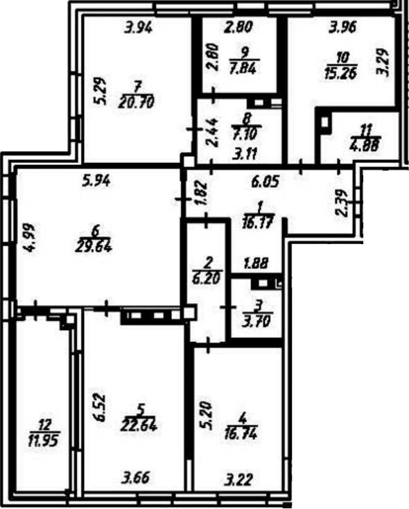 5-к.кв (евро), 162.82 м²