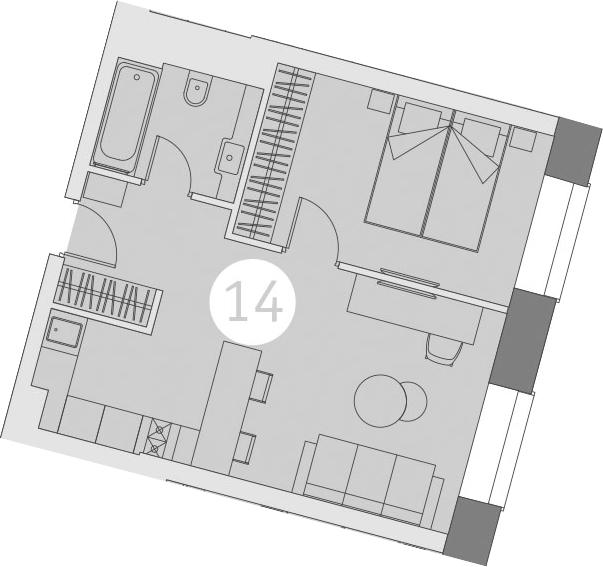 2-к.кв (евро), 40.49 м²
