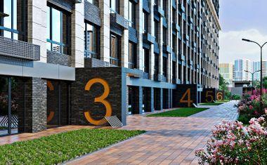 3Е-комнатная, 54.67 м²– 6