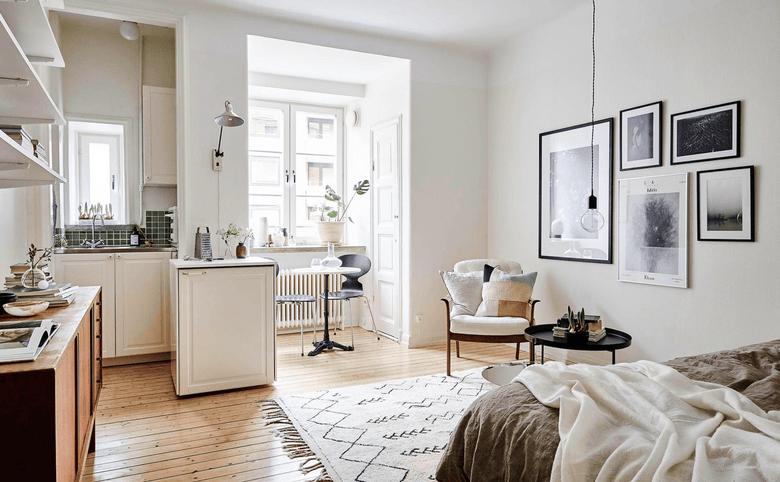 Как сделать уютной маленькую квартиру