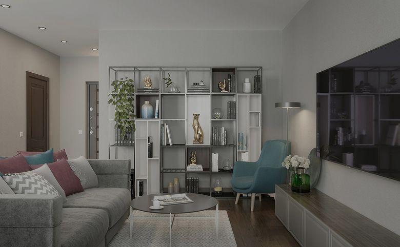 3-комнатная квартира, 79.14 м², 7 этаж – 4