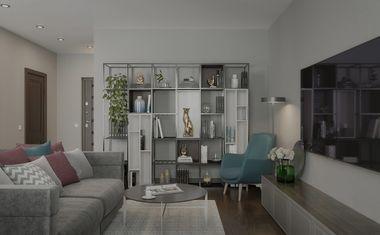 2Е-комнатная, 42.05 м²– 4
