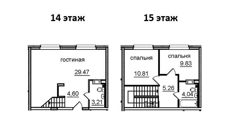 3-к.кв (евро), 71.18 м²