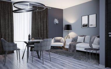 1-комнатная, 35.62 м²– 5