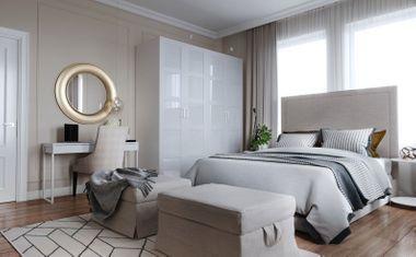 1-комнатная, 28 м²– 6