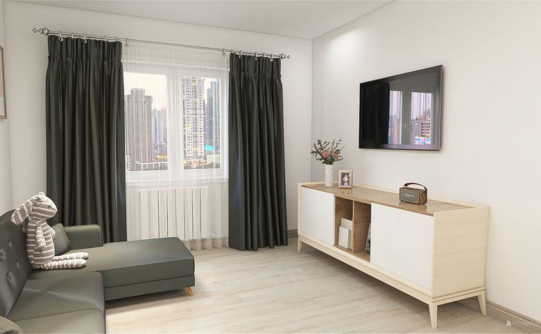 1-комнатная квартира, 33.77 м², 8 этаж – 2