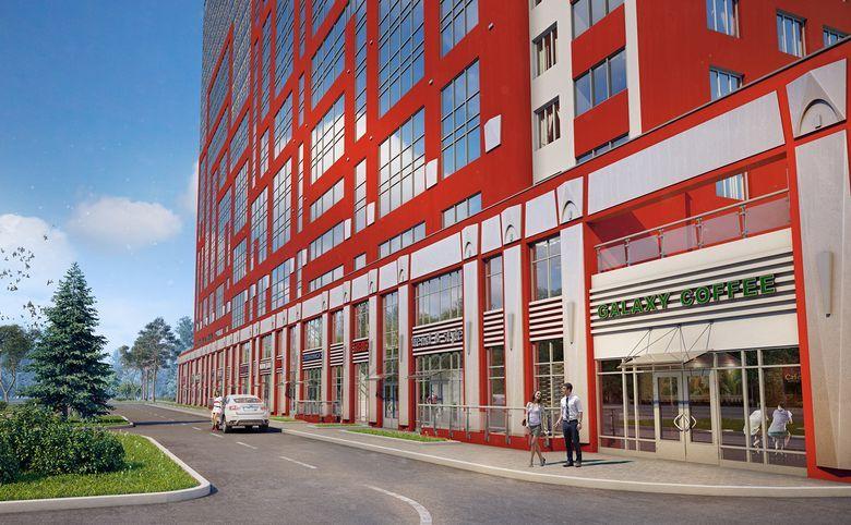 3-комнатная квартира, 78.1 м², 17 этаж – 7
