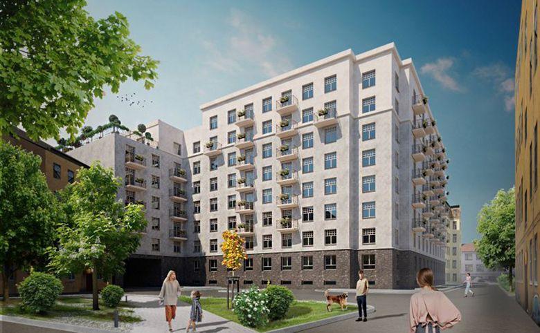 5-комнатная квартира (евро), 136.46 м², 2 этаж – 4