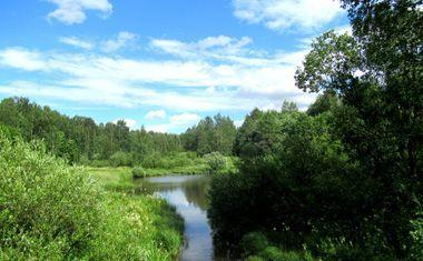 Река Лапка