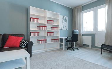 1-комнатная, 32.8 м²– 1