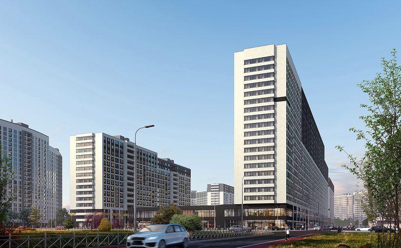 2Е-комнатная квартира, 36.46 м², 2 этаж – 17