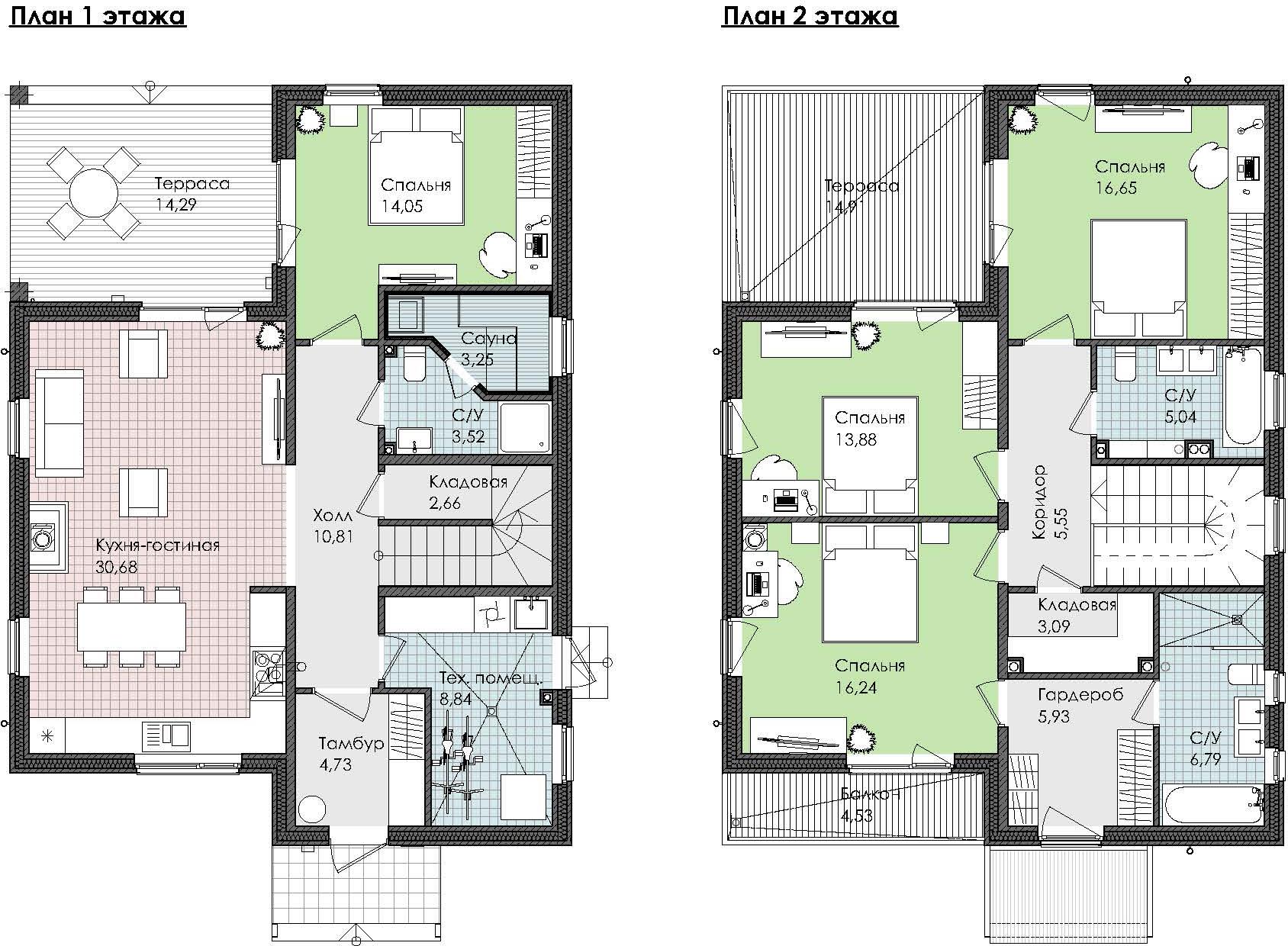 Коттедж, 185.44 м²– 2