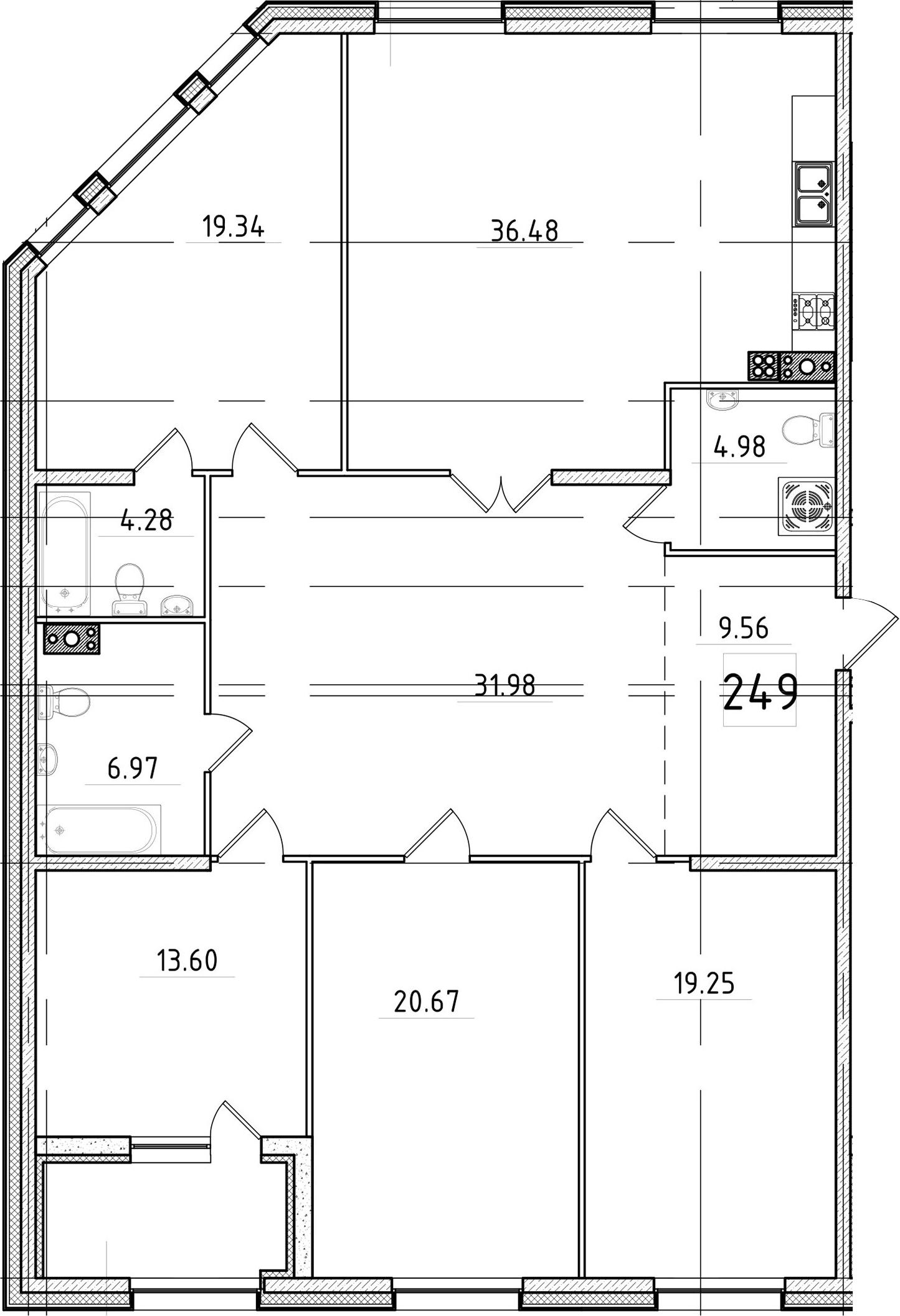 5Е-к.кв, 169.74 м²