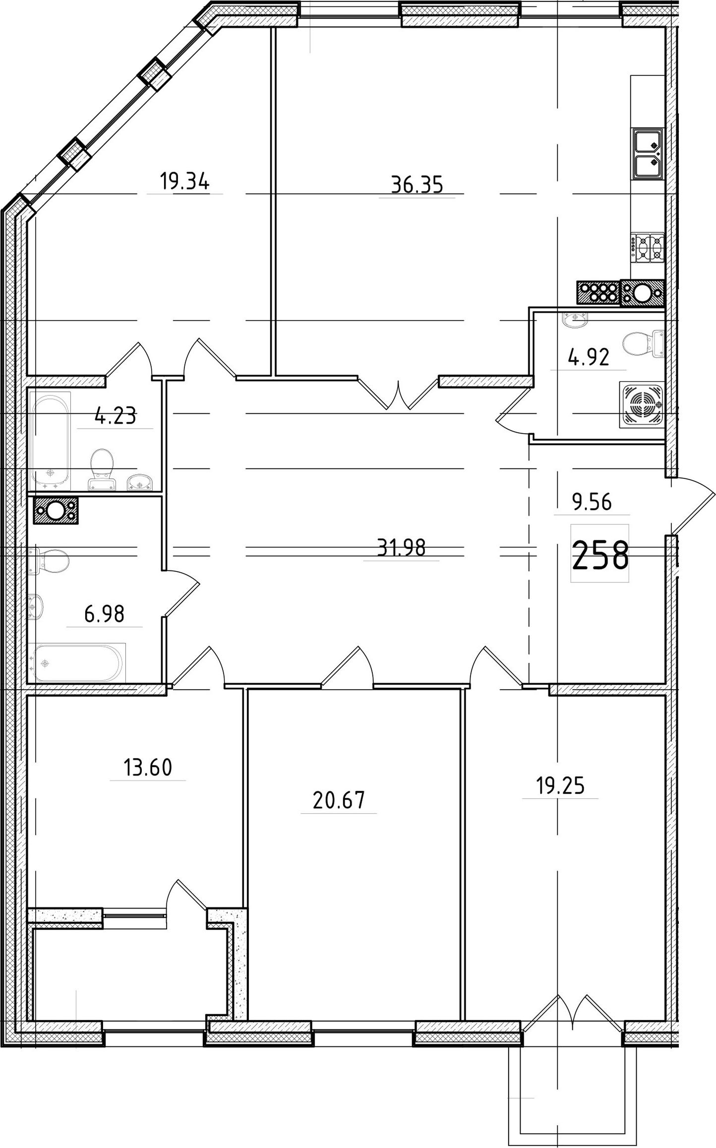 5Е-к.кв, 170.32 м²