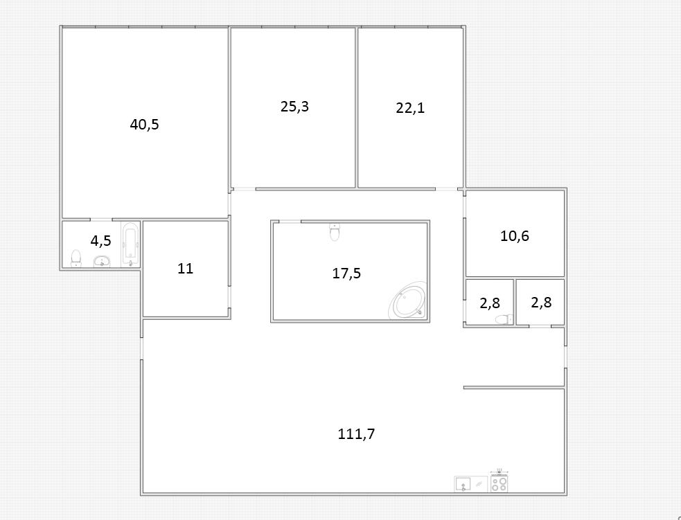 4Е-к.кв, 248.8 м²