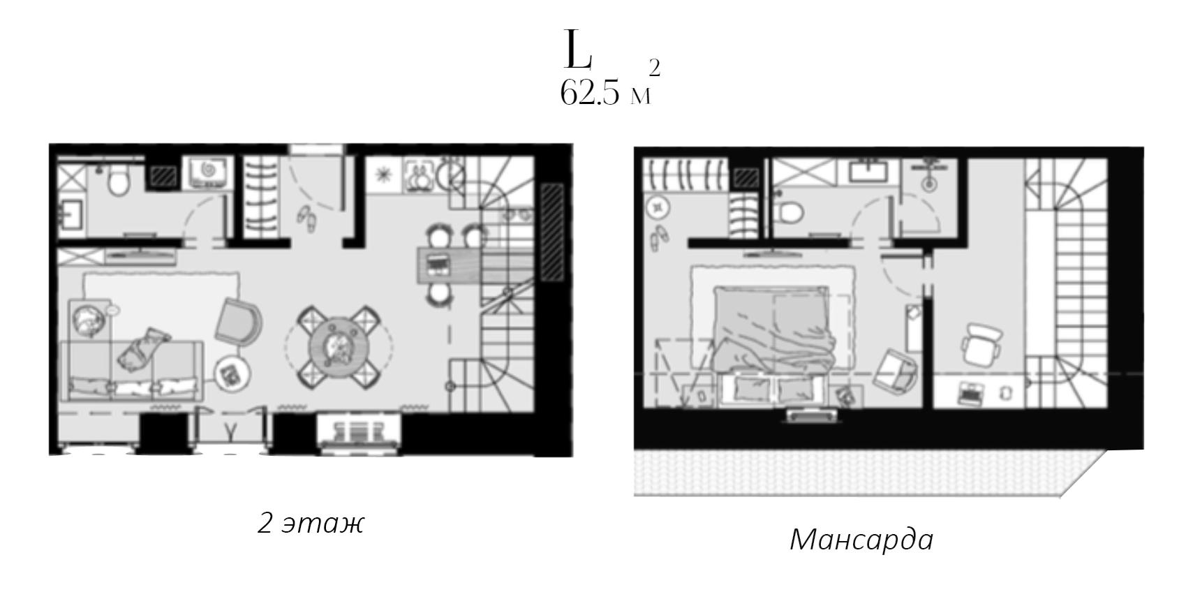 Своб. план., 62.5 м²