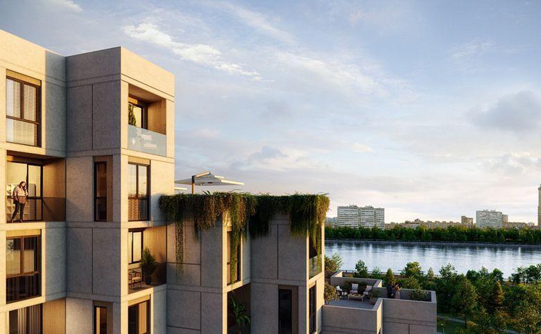 2Е-комнатная квартира, 44 м², 24 этаж – 3