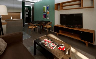 2Е-комнатная, 39.04 м²– 5