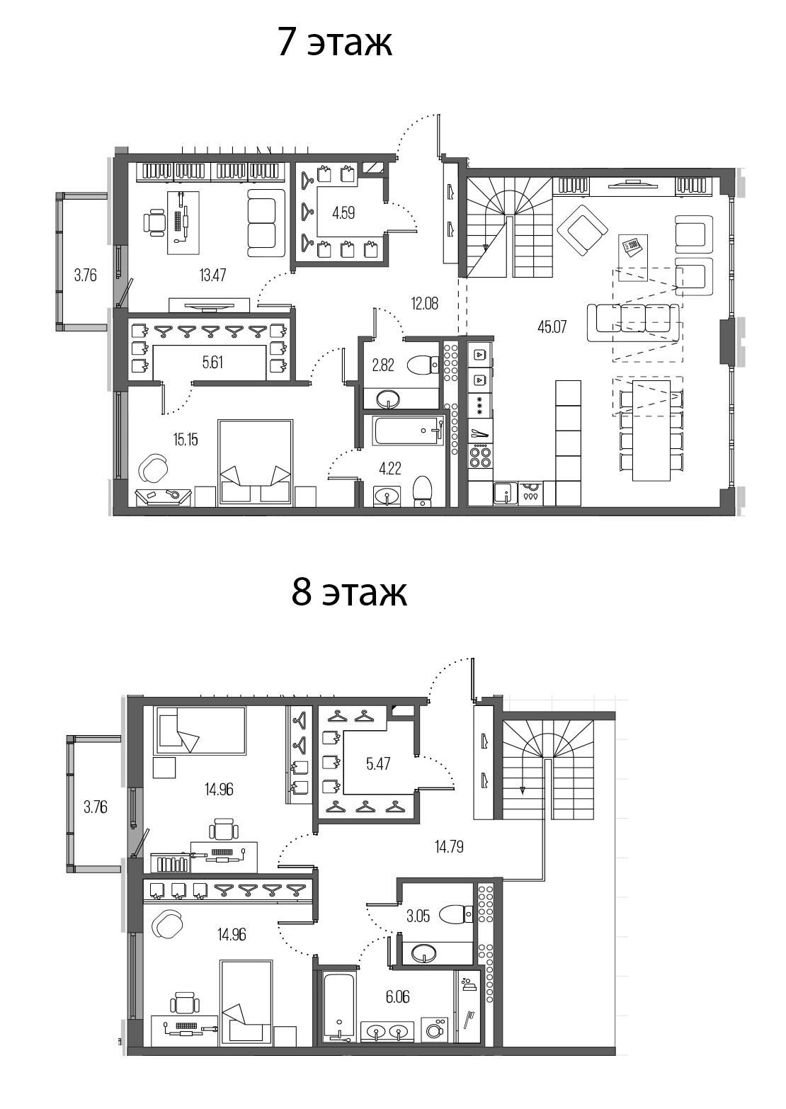 5Е-комнатная, 162.3 м²– 2