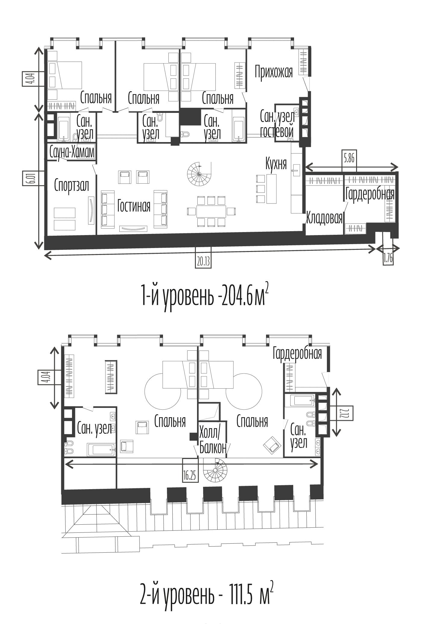 6-к.кв, 316.1 м²