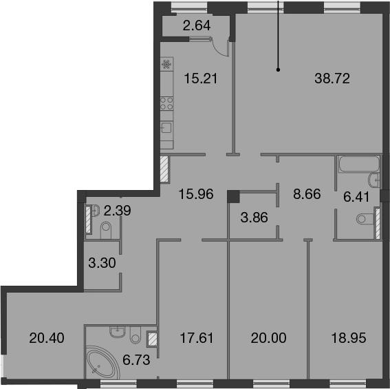 5Е-к.кв, 179.52 м²