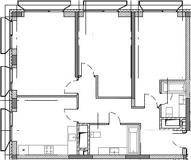 3-к.кв, 90.06 м²