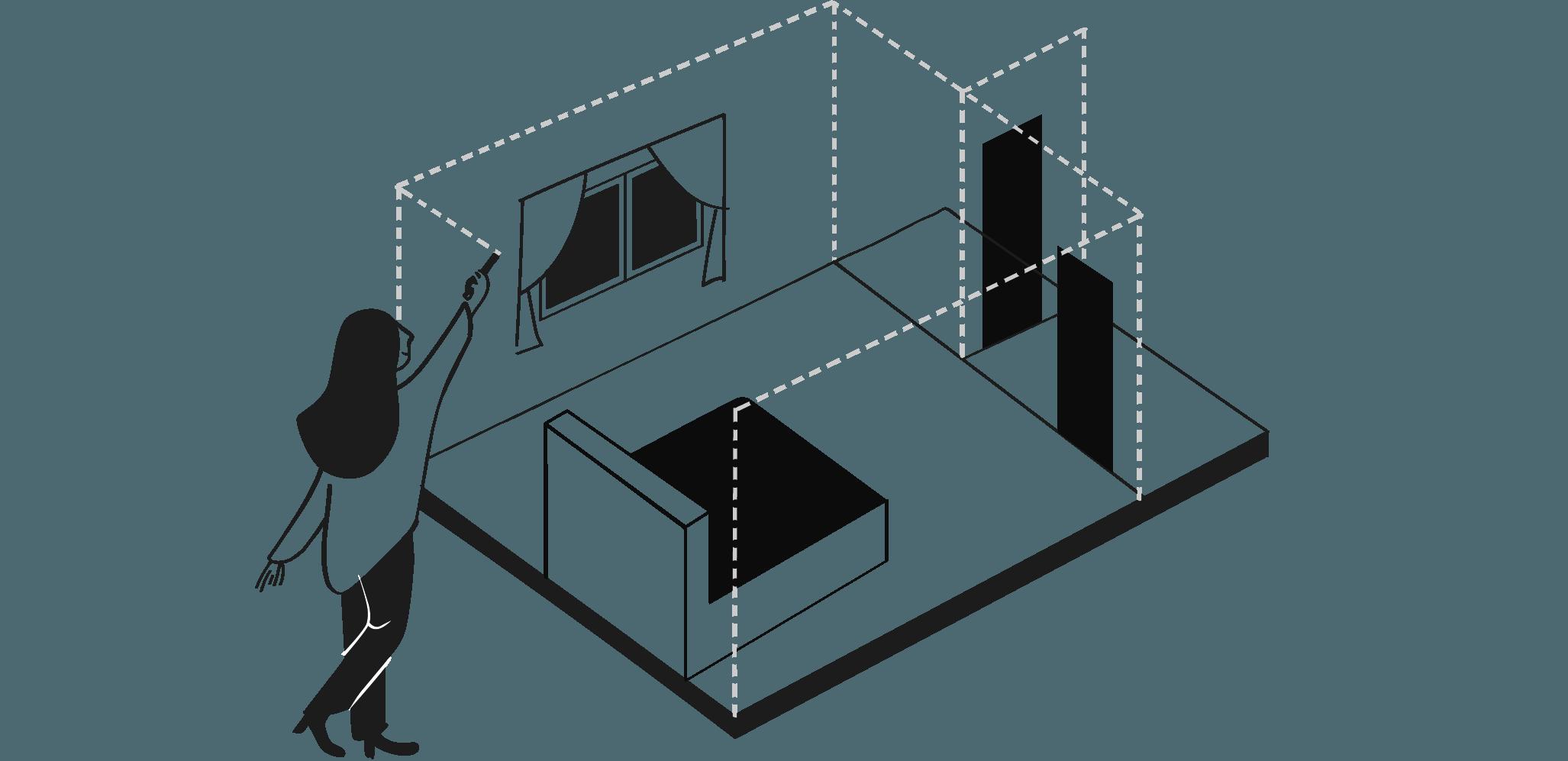 Квартира-студия в городе