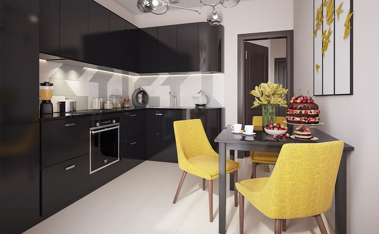 3Е-комнатная квартира, 57.7 м², 6 этаж – 5