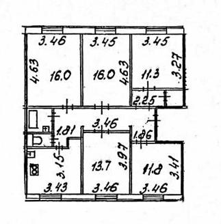 5-к.кв, 103.4 м²
