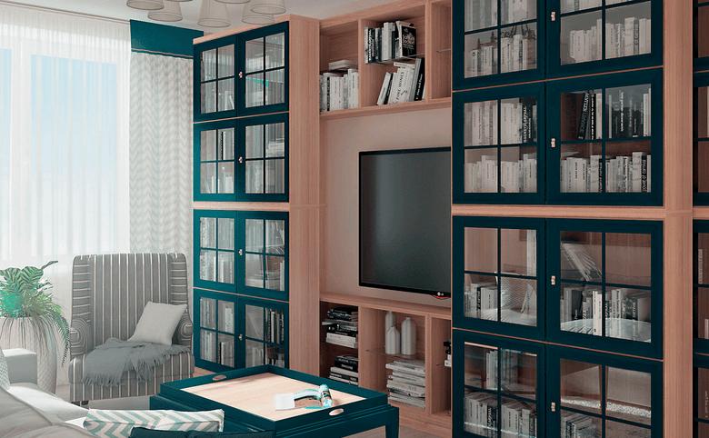 2Е-комнатная квартира, 66.13 м², 16 этаж – 2