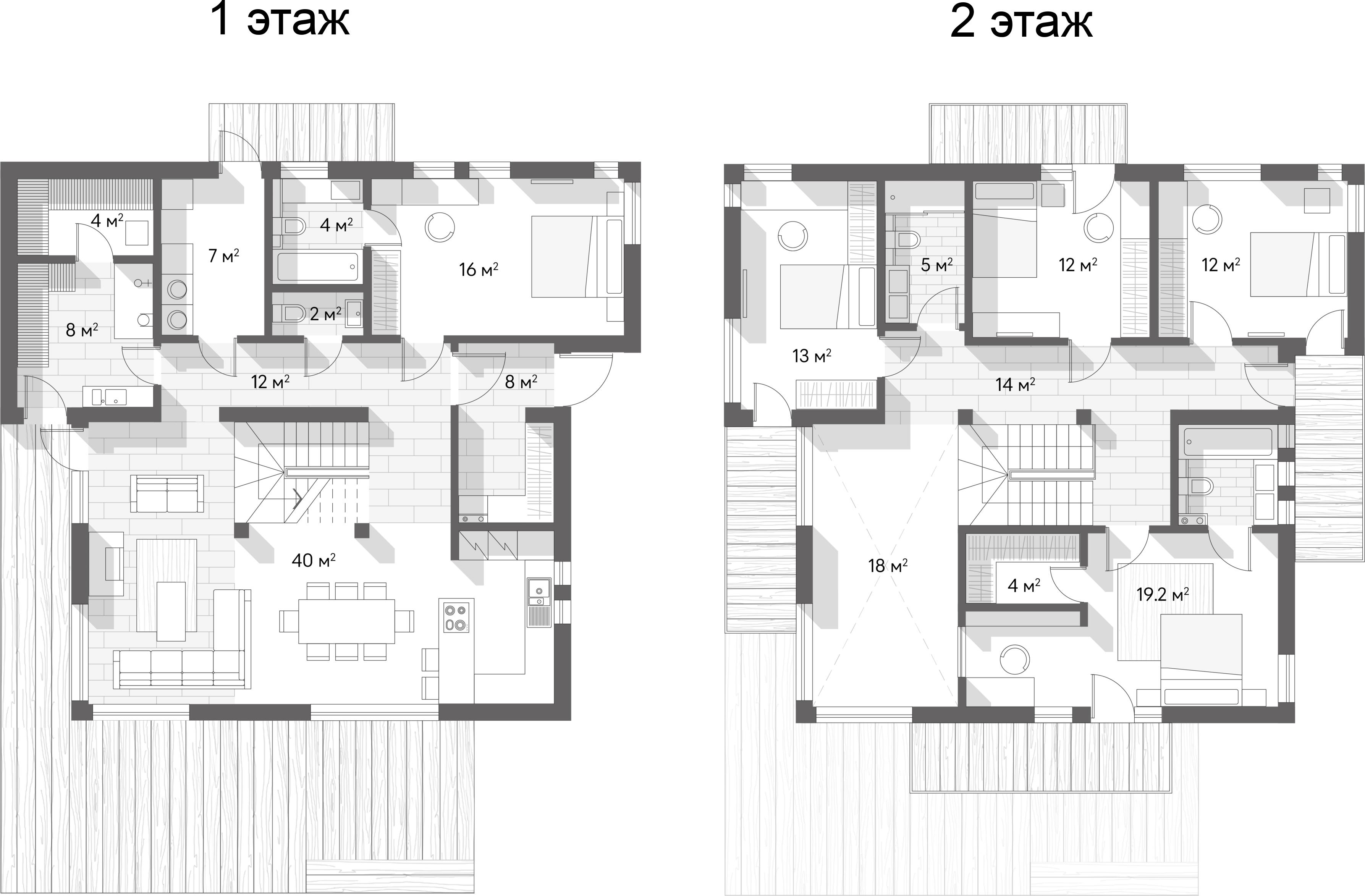 Коттедж, 195 м²– 2