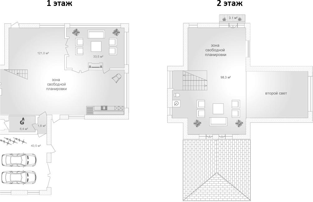 Коттедж, 286.4 м²– 2