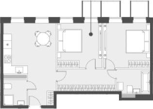 Своб. план., 60.3 м²