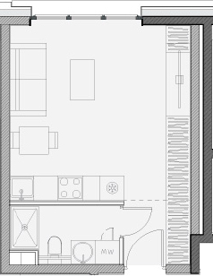 Своб. план., 25.9 м²