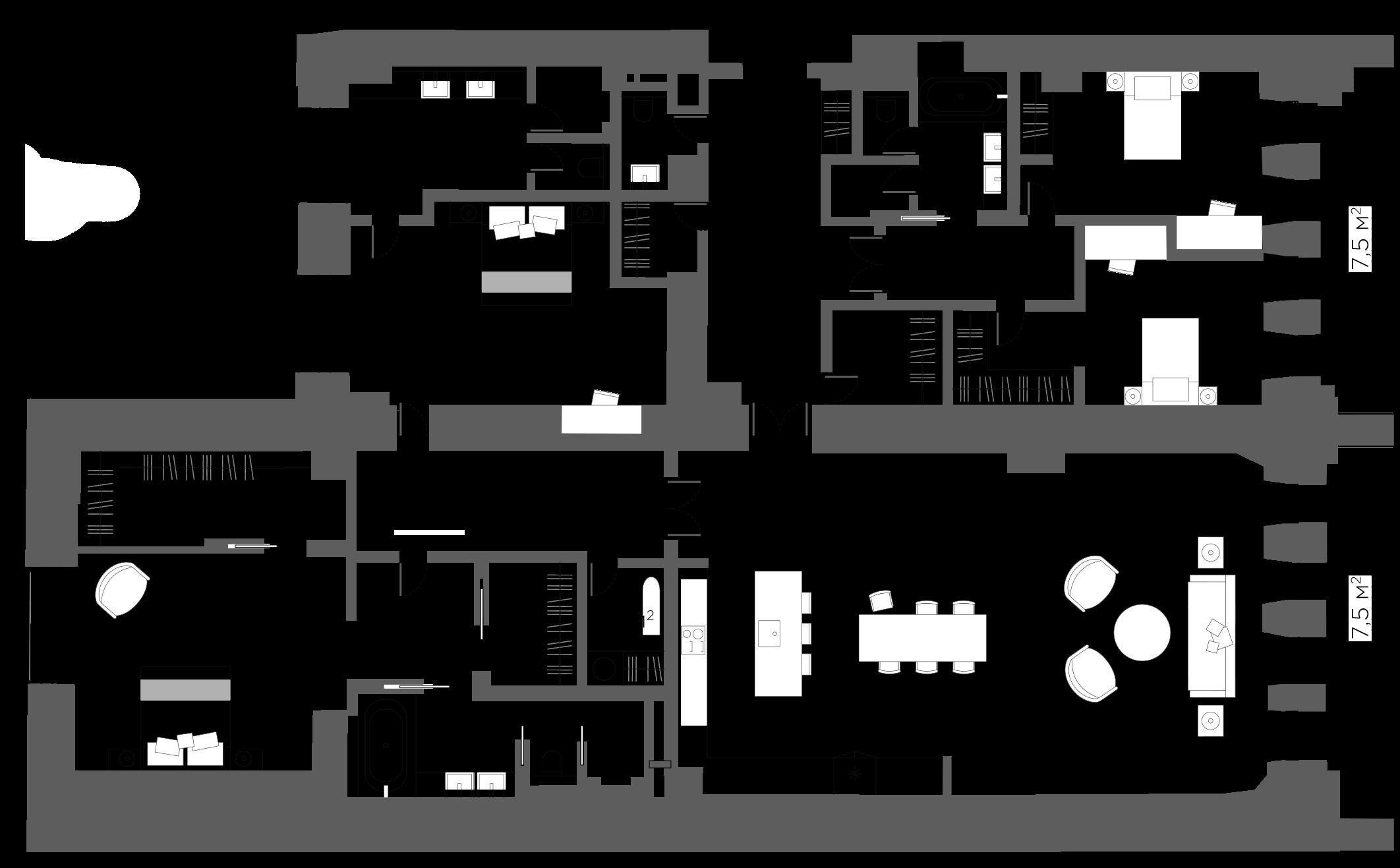 5Е-к.кв, 233.22 м²