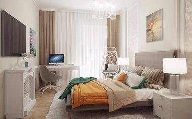 3Е-комнатная, 66.33 м²– 3