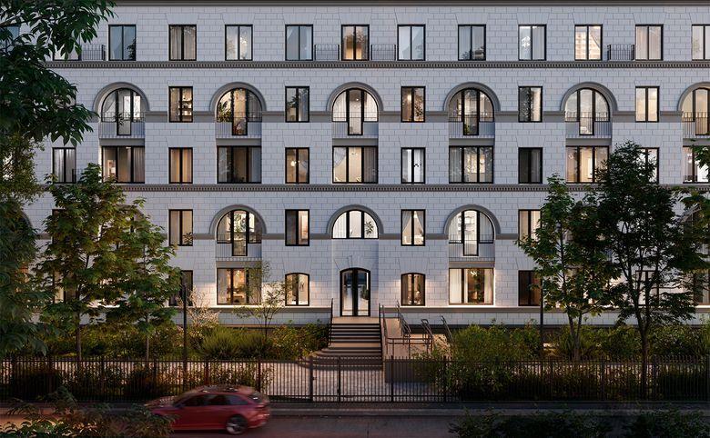 2Е-комнатная квартира, 44.3 м², 2 этаж – 1