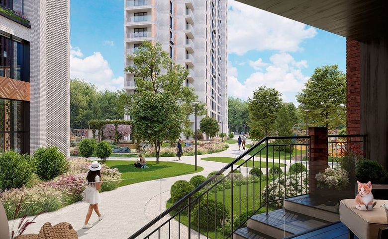 2Е-комнатная квартира, 60.22 м², 16 этаж – 8