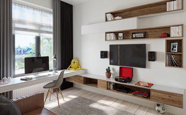 2Е-комнатная, 44.23 м²– 1