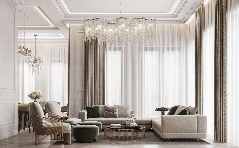 3Е-комнатная квартира, 78.99 м², 8 этаж – 2