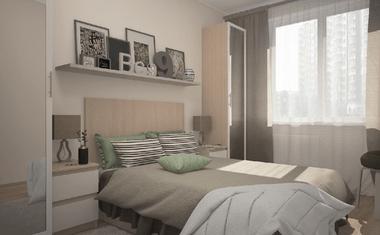 1-комнатная, 34.94 м²– 1