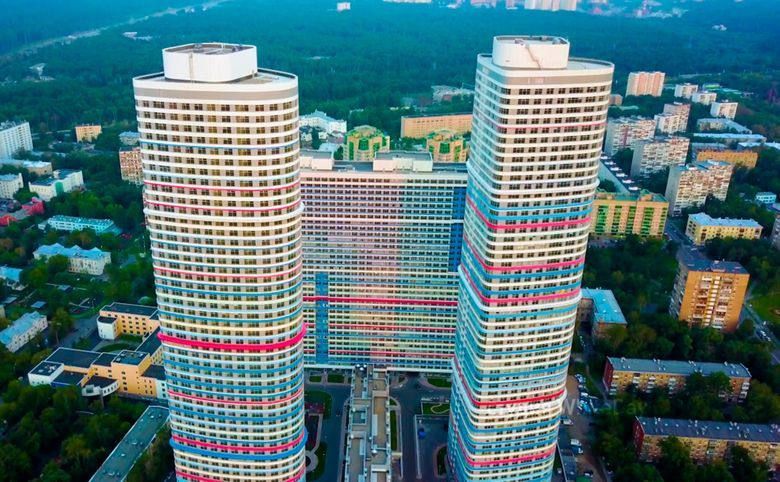 Свободная планировка, 109 м², 26 этаж – 5