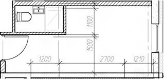 Студия, 15.85 м², от 9 этажа
