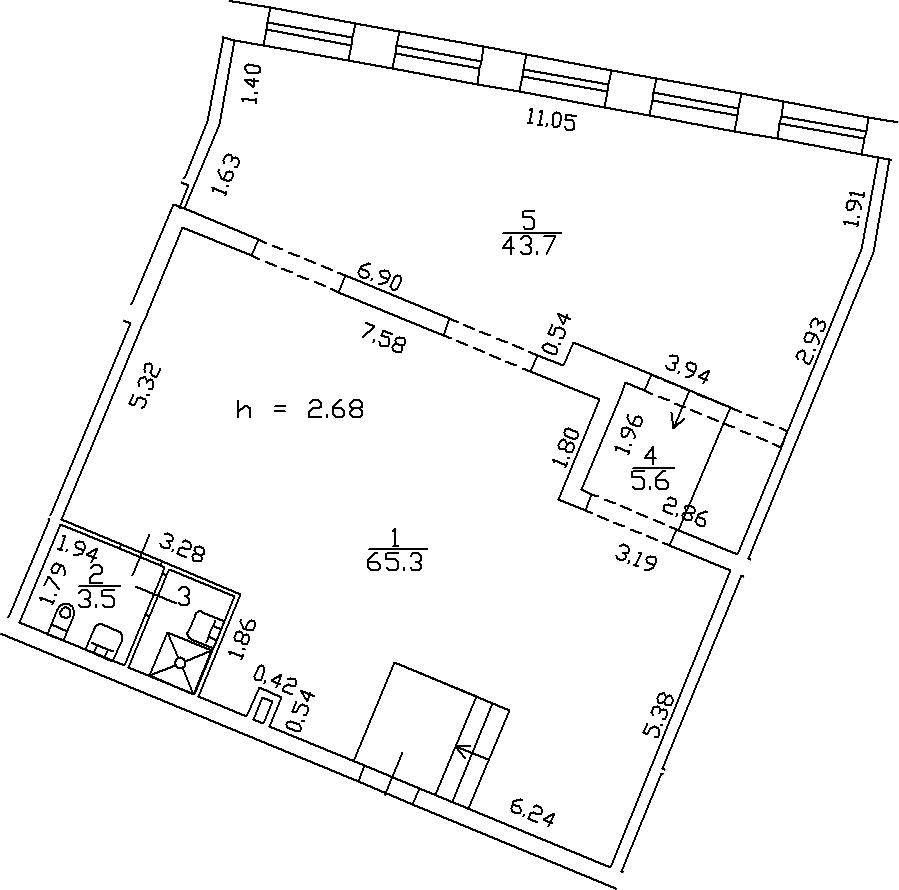 Своб. план., 120.2 м²
