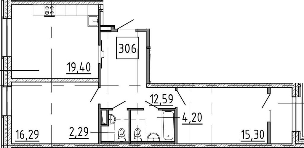 3-к.кв (евро), 73.79 м²
