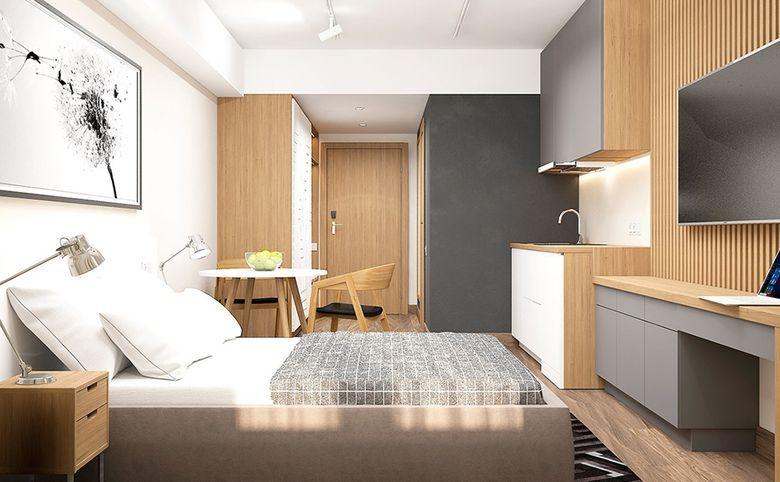 Студия, 34.9 м², 3 этаж – 2