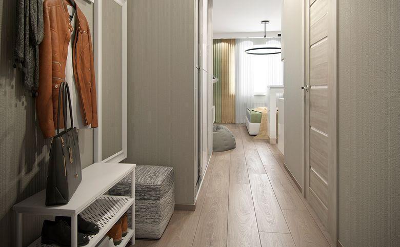1-комнатная квартира, 37.59 м², 10 этаж – 8