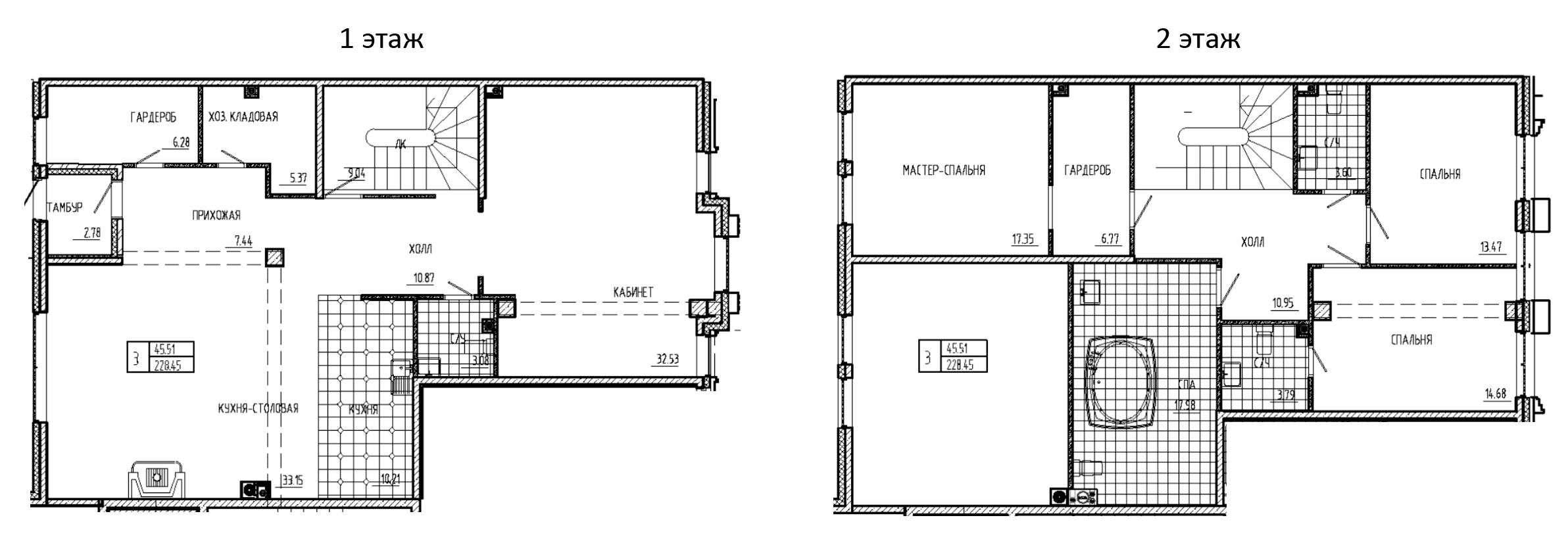 5Е-комнатная, 209.34 м²– 2