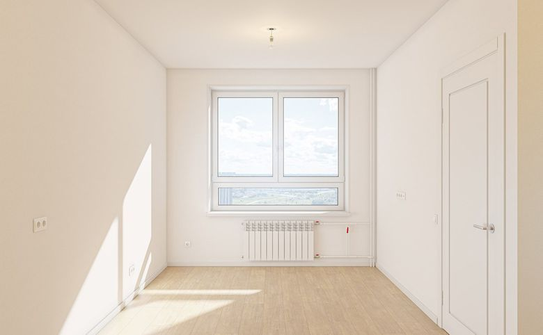 3Е-комнатная квартира, 55.76 м², 18 этаж – 2