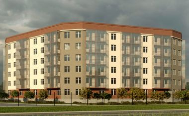 2Е-комнатная, 42.33 м²– 1